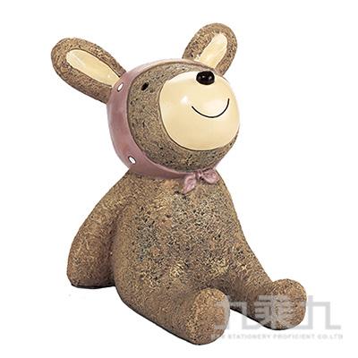 療癒擺飾小物存錢筒-兔子(特大)