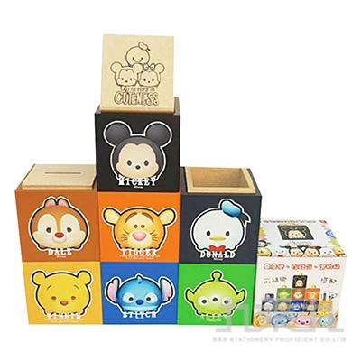 TsumTsum木製疊疊樂存錢筒