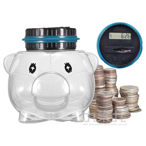 電子計數豬豬儲蓄筒
