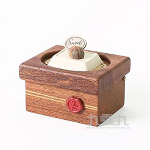 小木盒音樂鈴 /  堅果白巧克力