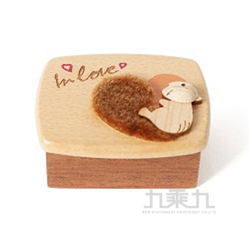 小木盒音樂鈴 /  松鼠