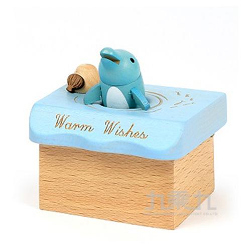 小木盒音樂鈴 /  海豚