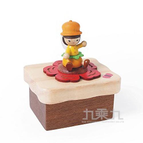 小木盒音樂鈴 /  山茶花