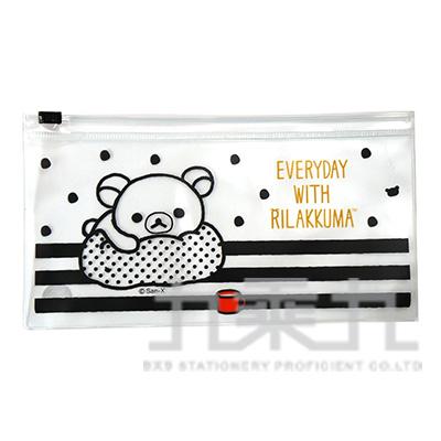拉拉熊48K夾鏈袋(黑白版) RA10162B