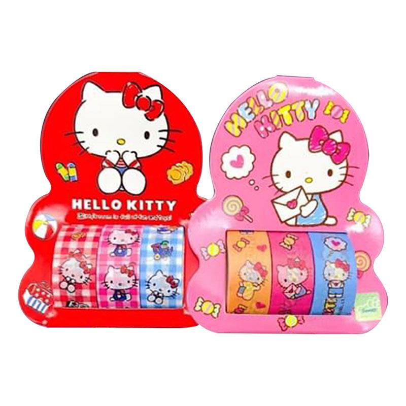 Hello Kitty 裝飾紙膠帶 195732(款式隨機出貨)