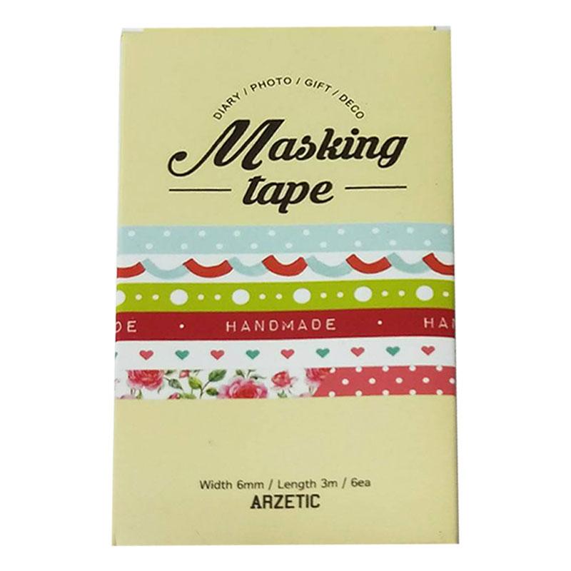 ARZETIC膠帶-緞帶(6入) 56037
