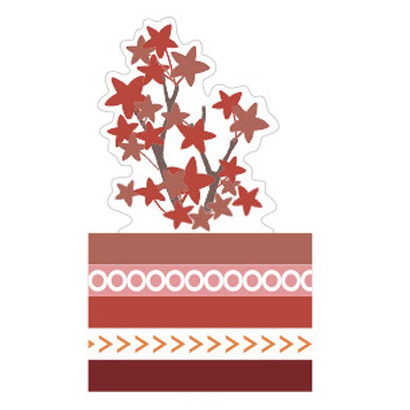 slim套裝紙膠帶-紅楓 27993