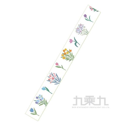 如花在野和紙膠帶-花枝