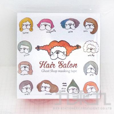 鬼畫福和紙膠帶-法鬥理髮廳