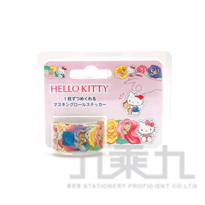 【bande】和紙膠帶貼紙_三麗鷗_Hello Kitty CMR33601