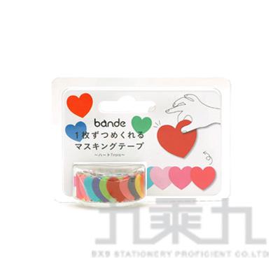 Bande自由配貼紙-愛心三重奏 BDA269