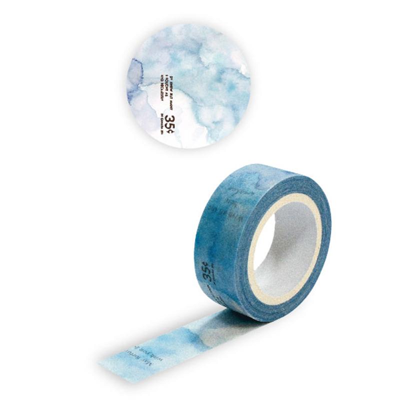 紙膠帶 暈染藍BMT-25