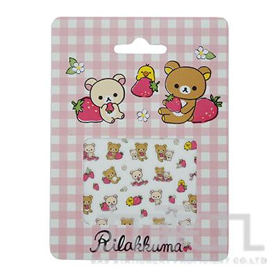 拉拉熊指甲貼-草莓版 RK04714A