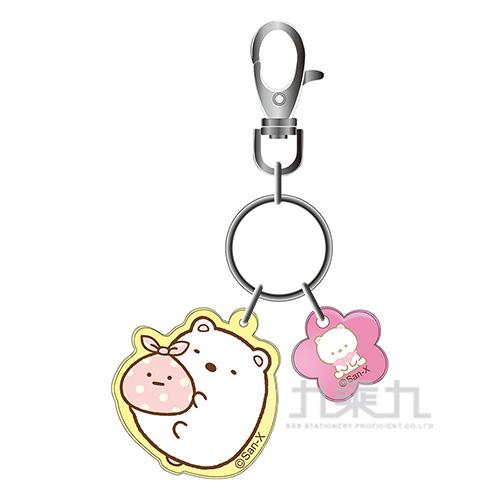 小夥伴果凍鑰匙圈A-白熊