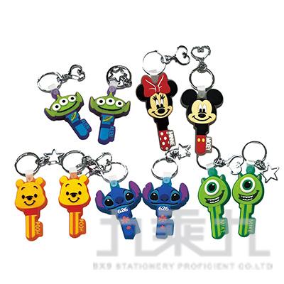 迪士尼矽膠鑰匙鎖圈(多款隨機)