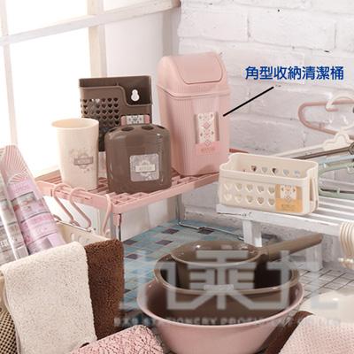 角型收納清潔桶(附蓋) P7955