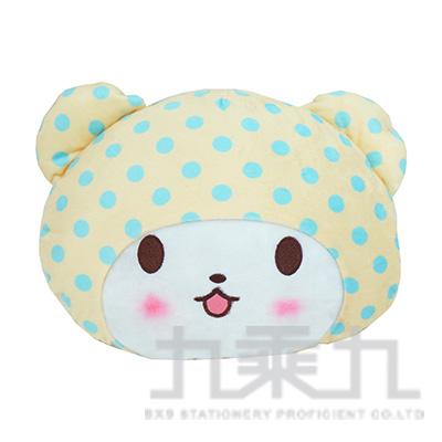 三麗鷗毛毯熊莫普頭型抱枕 MF740002