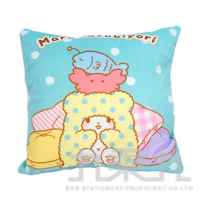 三麗鷗毛毯熊莫普方型抱枕 MF740004