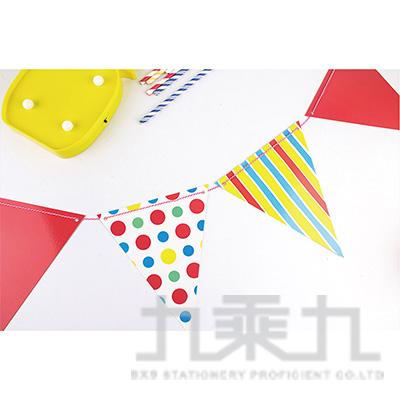 派對佈置-三角旗 DE-10003