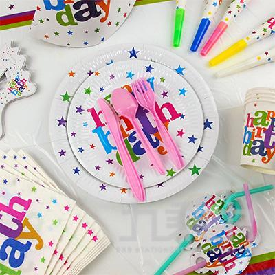 派對佈置-生日套裝組10人份