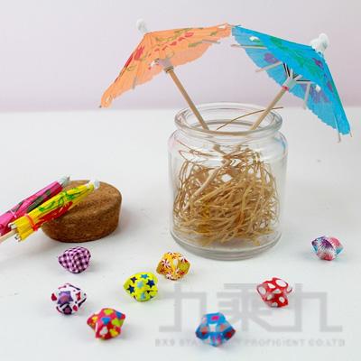 派對佈置 蛋糕插旗雨傘造型(6入)