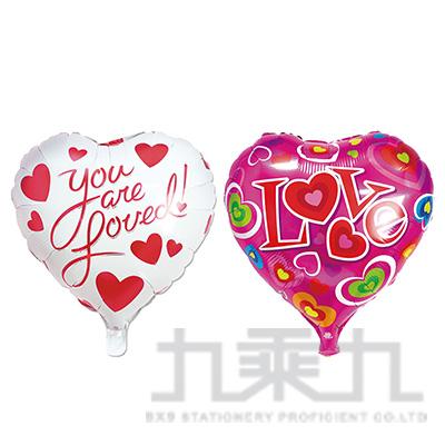 派對佈置-18吋鋁箔愛心氣球 DE-03141