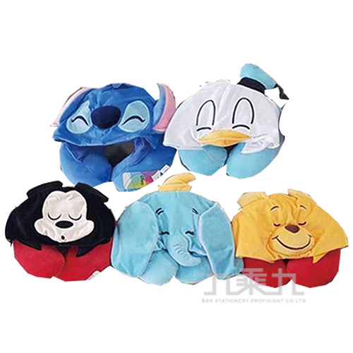 迪士尼戴帽頸枕