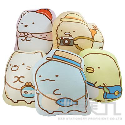 12吋角落小夥伴造型抱枕-旅行款(款式隨機)