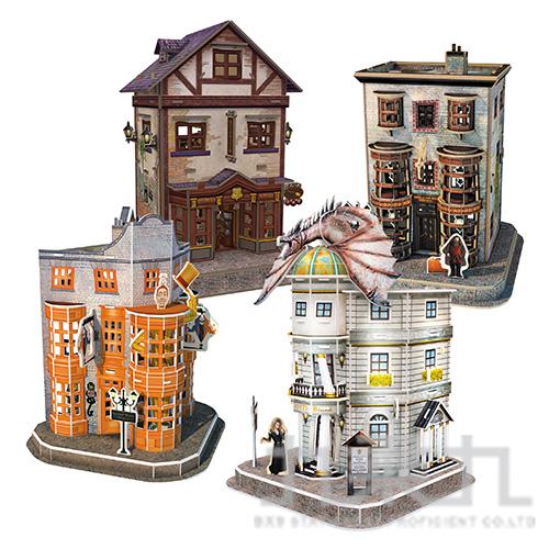 Harry Potter 3D立體拼圖-斜角巷(4款場景) DS1009h