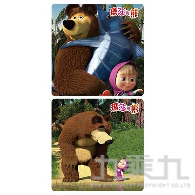瑪莎與熊 小彩色拼圖 (款式隨機)