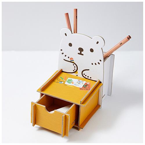 白白日記-抽屜置物盒(認真念書)