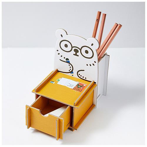 白白日記-抽屜置物盒(努力畫畫)