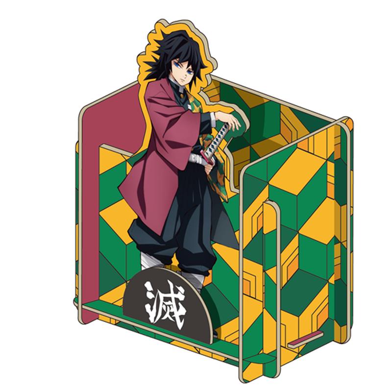 鬼滅之刃-組合式置物盒(富岡義勇)