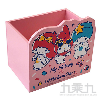 美樂蒂X雙子星多功能收納小物盒  MM630002