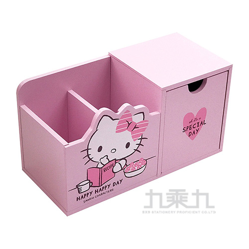 Hello Kitty 綜合版筆筒抽屜盒 KT630105