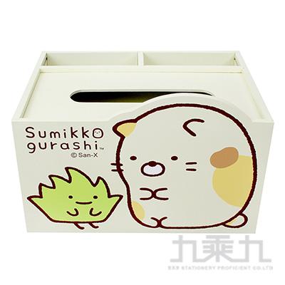 角落小夥伴造型置物面紙盒-貓咪版 SG62441C