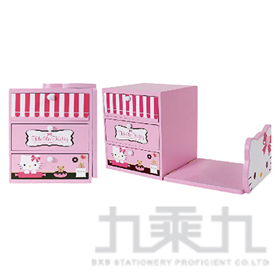 KT甜點店書架收納盒