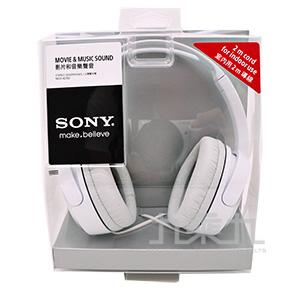 SONY耳罩式耳機 XD150-W(白)