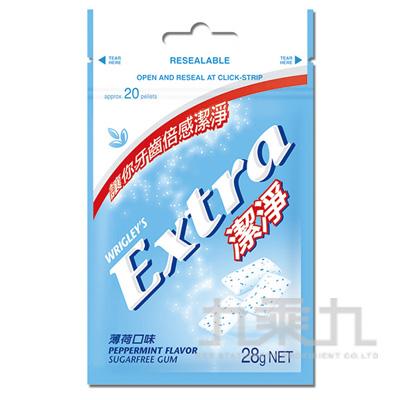 Extra益齒達潔淨無糖口香糖-薄荷