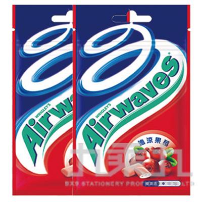 Airwaves超涼無糖口香糖-沁涼果莓口味