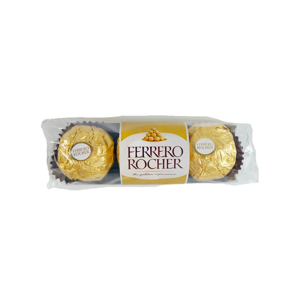 金莎3粒裝巧克力