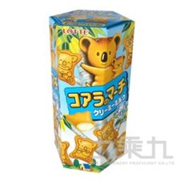 64#樂天小熊餅-牛奶37g