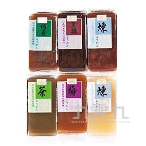 羊羹-紅豆/綠茶/綠豆/栗子/梅子/黑糖50g