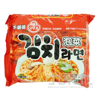 不倒翁-泡菜風味拉麵120g
