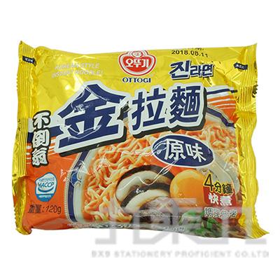 不倒翁-金拉麵(原味)120g