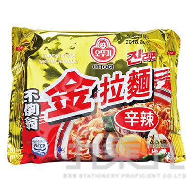 不倒翁-金拉麵(辛辣)120g