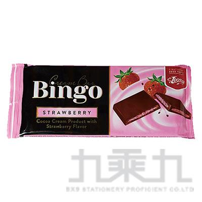 Bingo草莓巧克力片90g