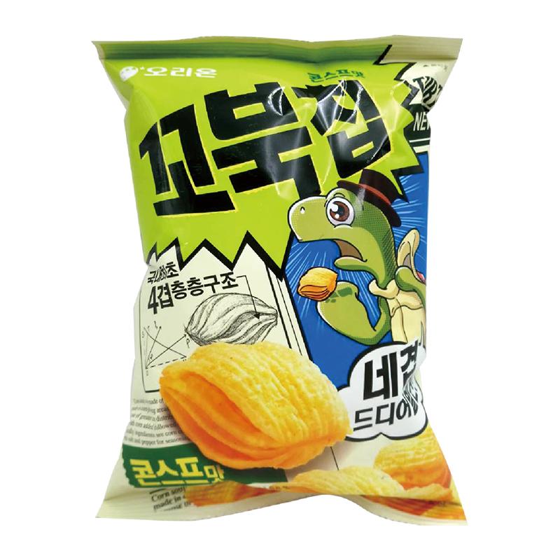 好麗友烏龜玉米脆片80g(玉米濃湯味)