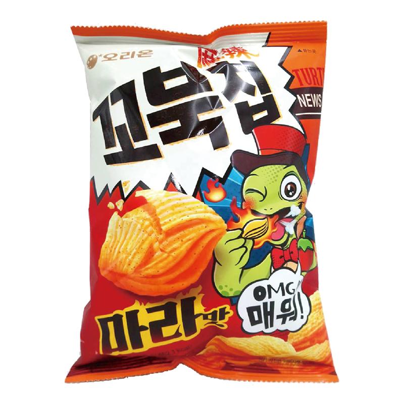 好麗友烏龜玉米脆片80g(麻辣味)
