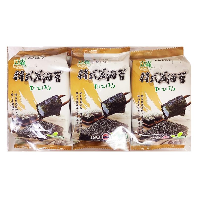 立森韓式岩燒海苔(3入)